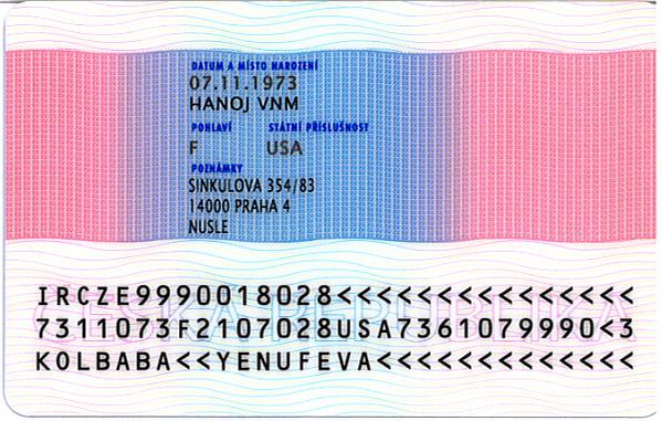 průkaz o povolení k trvalému pobytu 2