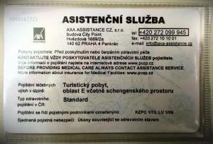 asistenční služby AXA ASSISTANCE u PVZP