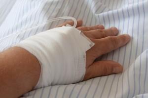 hospitalizace v nemocnici
