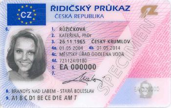 řidičský průkaz pro cizince v České republice